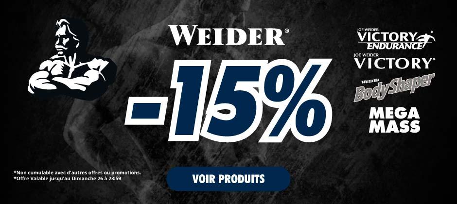 -15% Weider