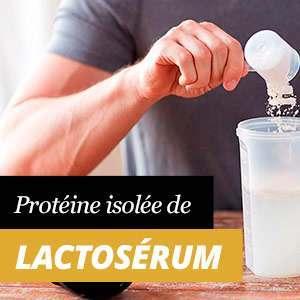 Protéine de lactosérum isolée