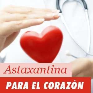 Astaxantina para el corazón