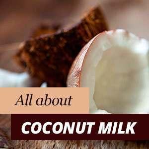 Coconut milk properties