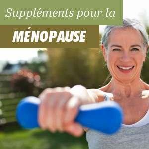 Suppléments pour la ménopause