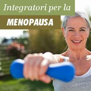 Integratori per la menopausa