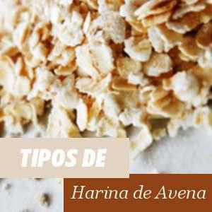 Tipos de Harina de Avena